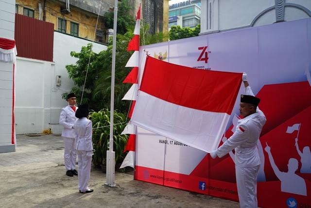 Kỷ niệm 74 năm Quốc khánh Indonesia Ảnh 1