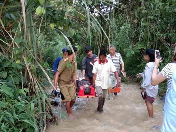Tai nạn nghiêm trọng tại Lào, nhiều du khách Trung Quốc thiệt mạng Ảnh 1
