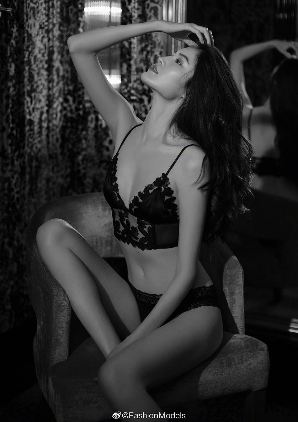 Siêu mẫu Victoria's Secret gốc Á mặc nội y ren, khoe lưng trần gợi cảm Ảnh 7