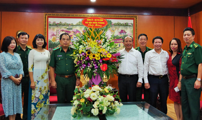 Bộ Tư lệnh BĐBP chúc mừng Đài Tiếng nói Việt Nam nhân Ngày Thành lập Ảnh 1