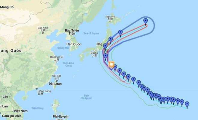 Lùi giờ nhiều chuyến bay đến Nhật vì bão Faxai Ảnh 1