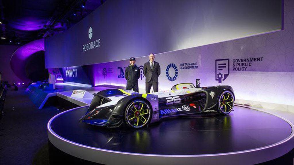 Xe tự hành Roborace lập kỷ lục về tốc độ Ảnh 1