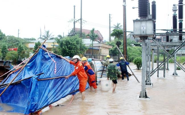 Thái Nguyên tập trung khắc phục thiệt hại do mưa lớn Ảnh 1
