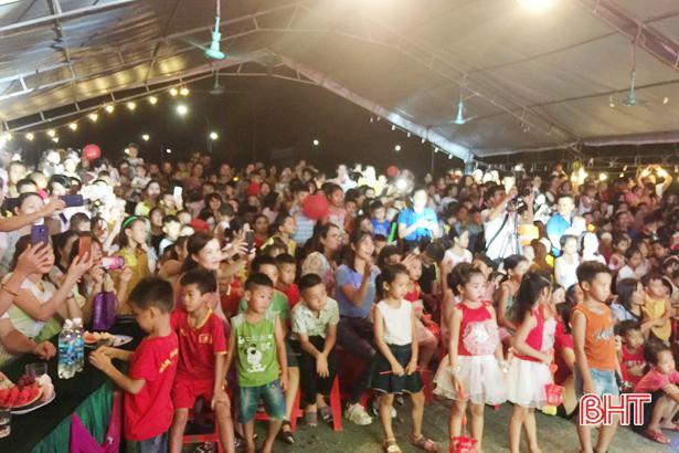 4.800 suất quà trung thu đến với con em người lao động Formosa Hà Tĩnh Ảnh 1