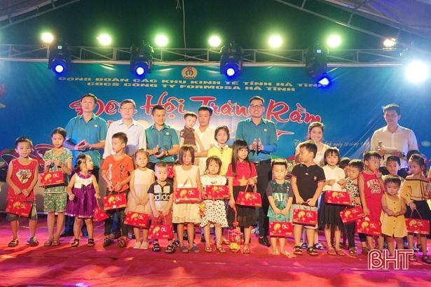 4.800 suất quà trung thu đến với con em người lao động Formosa Hà Tĩnh Ảnh 6