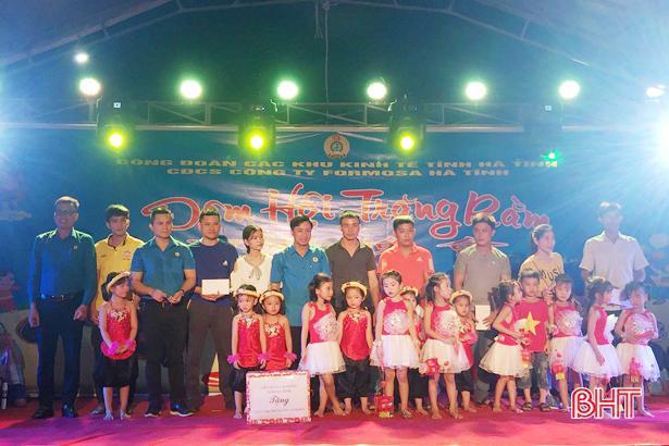 4.800 suất quà trung thu đến với con em người lao động Formosa Hà Tĩnh Ảnh 5