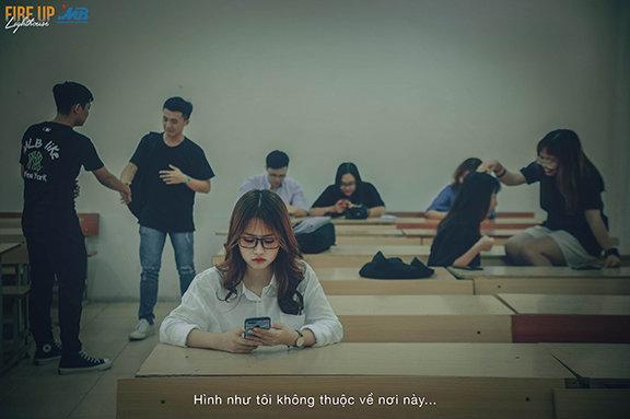 Bộ ảnh khắc họa nỗi niềm và tâm tư của tân sinh viên Ảnh 2