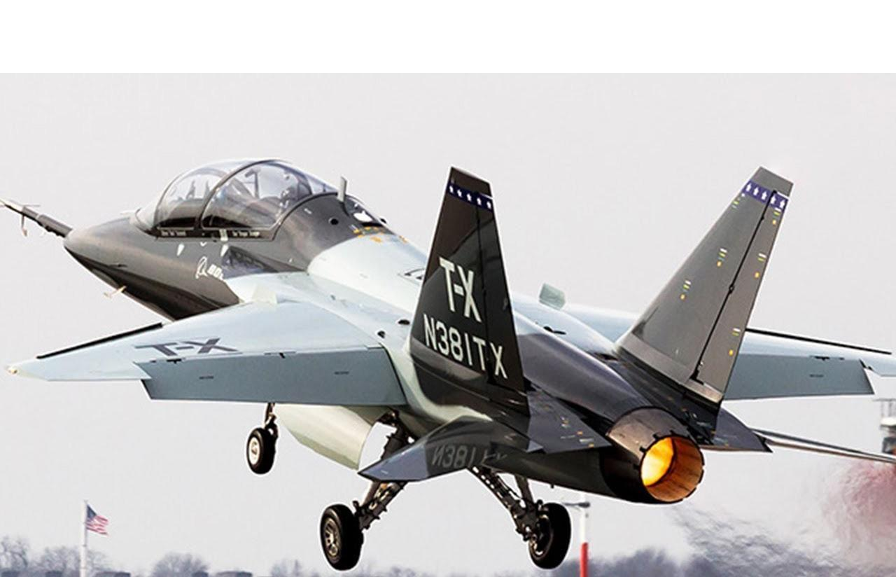 T-7 Red Hawk - trường dạy bay trên không cho phi công chiến đấu cơ F-22 và F-35 Mỹ Ảnh 6