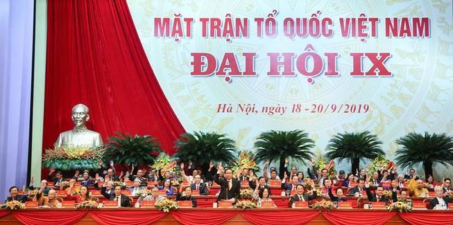 Người ngoài Đảng chiếm 50% UB Trung ương MTTQ Việt Nam Ảnh 1