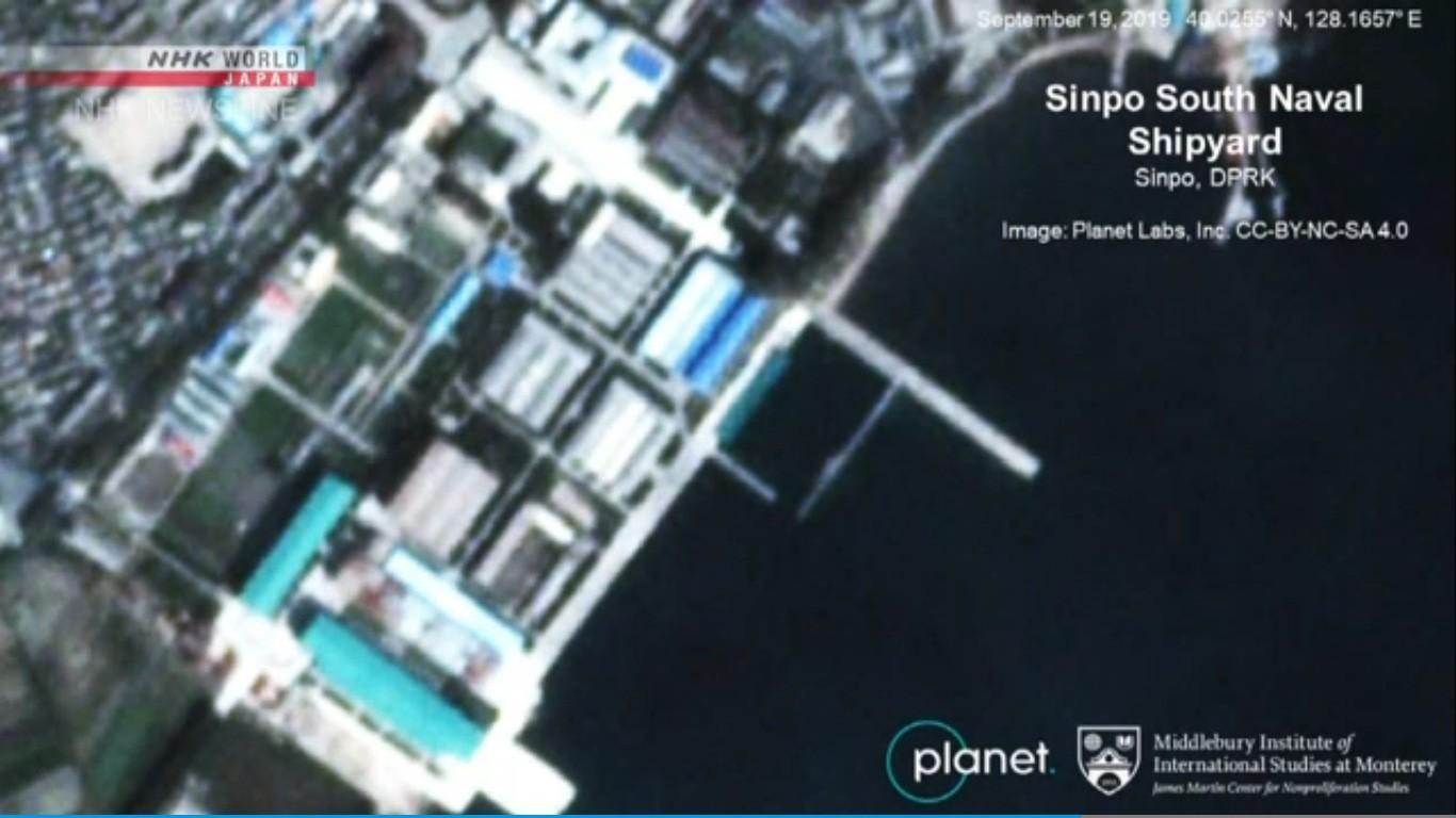 Rộ tin Triều Tiên triển khai tàu ngầm mang tên lửa đạn đạo Ảnh 1