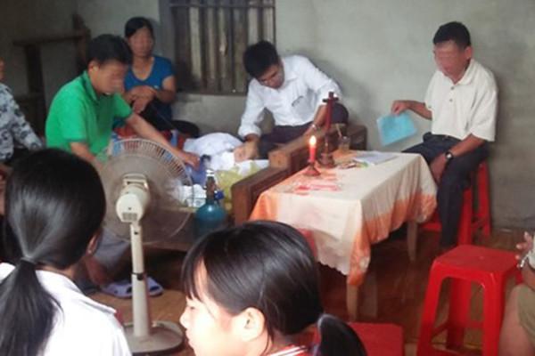 Nữ sinh Thanh Hóa bị cành cây đè tử vong trên đường đi ôn thi Ảnh 1
