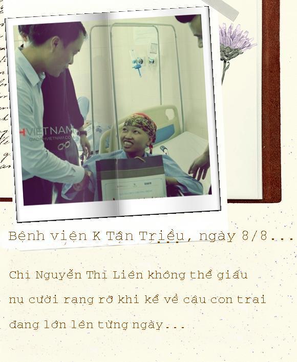 Hành trình kỳ diệu của người mẹ cắn răng chịu ung thư hành hạ để sinh con Ảnh 4
