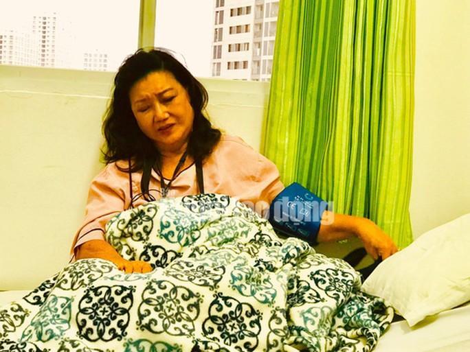 Bị nhồi máu cơ tim, NSND Kim Cương cấp cứu Ảnh 1
