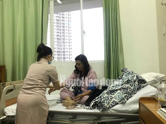 Bị nhồi máu cơ tim, NSND Kim Cương cấp cứu Ảnh 2