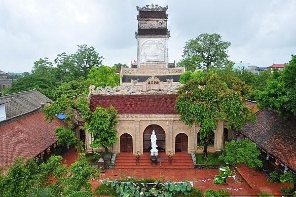 Khám phá ngôi chùa có quả chuông nặng 9000 kg chưa đánh một lần Ảnh 1