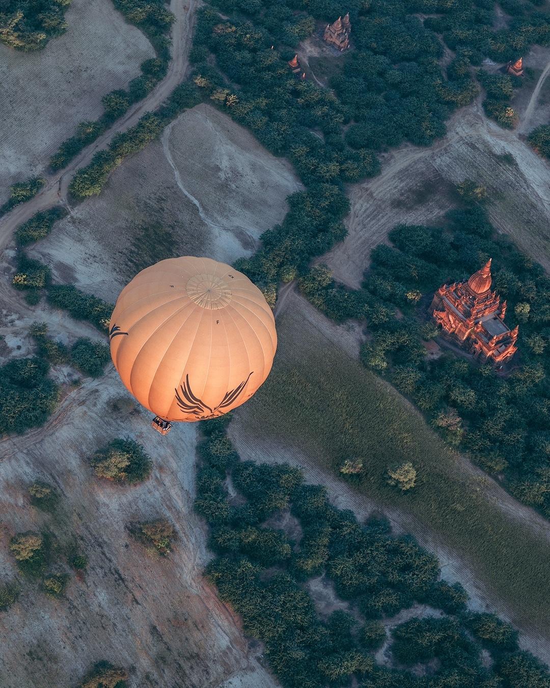 Chiêm ngưỡng loạt ảnh từ trên cao, Myanmar xứng danh ' đất nước của những ngôi chùa' Ảnh 16