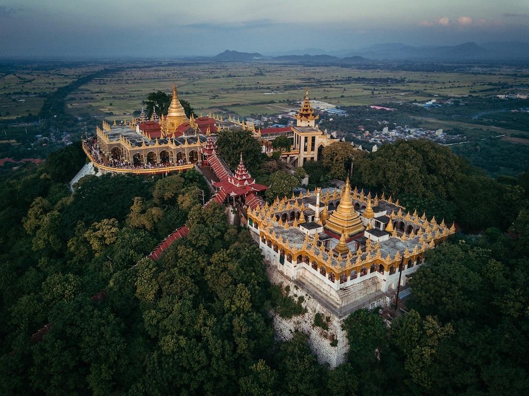 Chiêm ngưỡng loạt ảnh từ trên cao, Myanmar xứng danh ' đất nước của những ngôi chùa' Ảnh 11