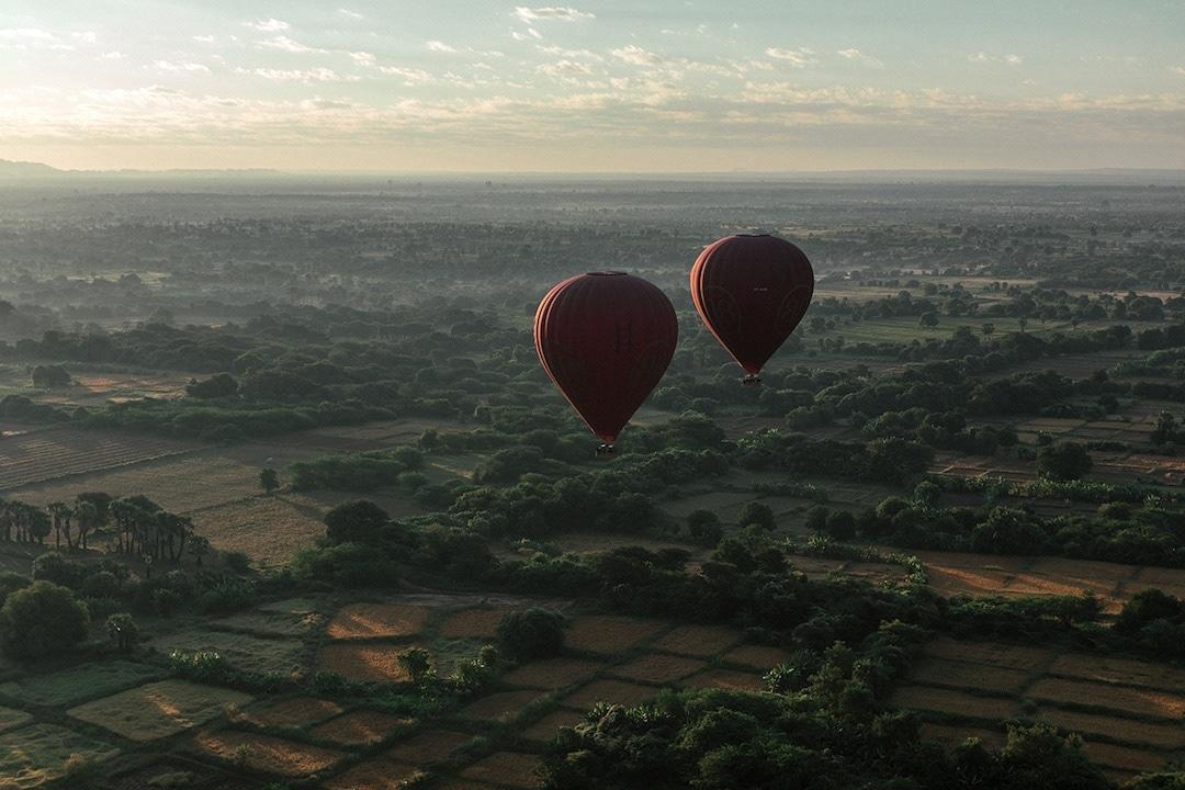 Chiêm ngưỡng loạt ảnh từ trên cao, Myanmar xứng danh ' đất nước của những ngôi chùa' Ảnh 14