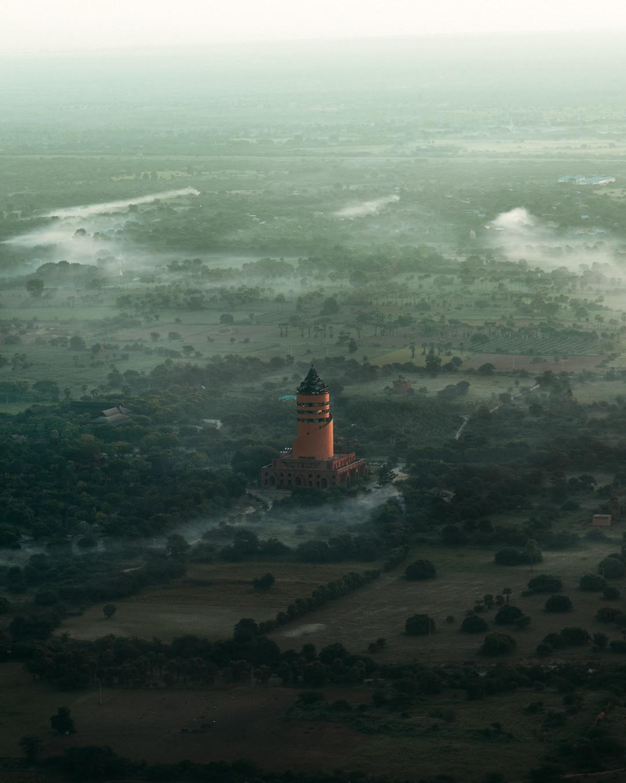 Chiêm ngưỡng loạt ảnh từ trên cao, Myanmar xứng danh ' đất nước của những ngôi chùa' Ảnh 13