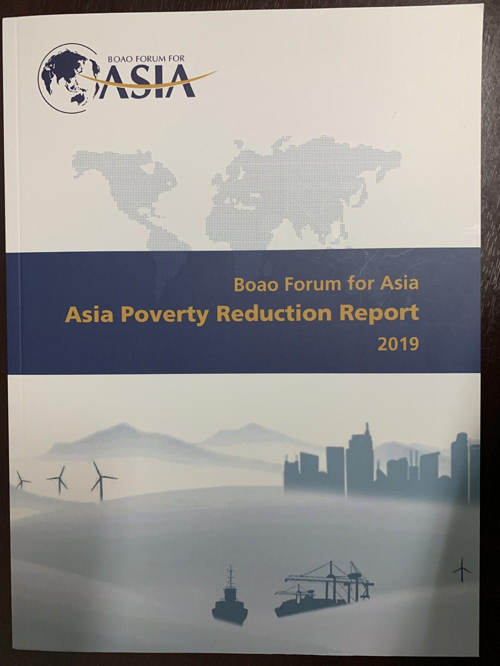 Diễn đàn châu Á Bác Ngao công bố 'Báo cáo giảm nghèo châu Á 2019' Ảnh 1