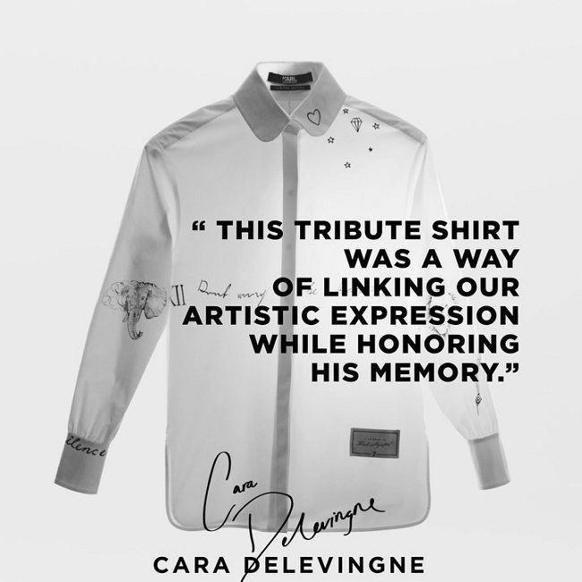 'Ma nữ' Mai Davika đẹp mê hồn trong buổi triển lãm Áo sơ mi trắng tri ân ông hoàng Karl Lagerfeld Ảnh 5