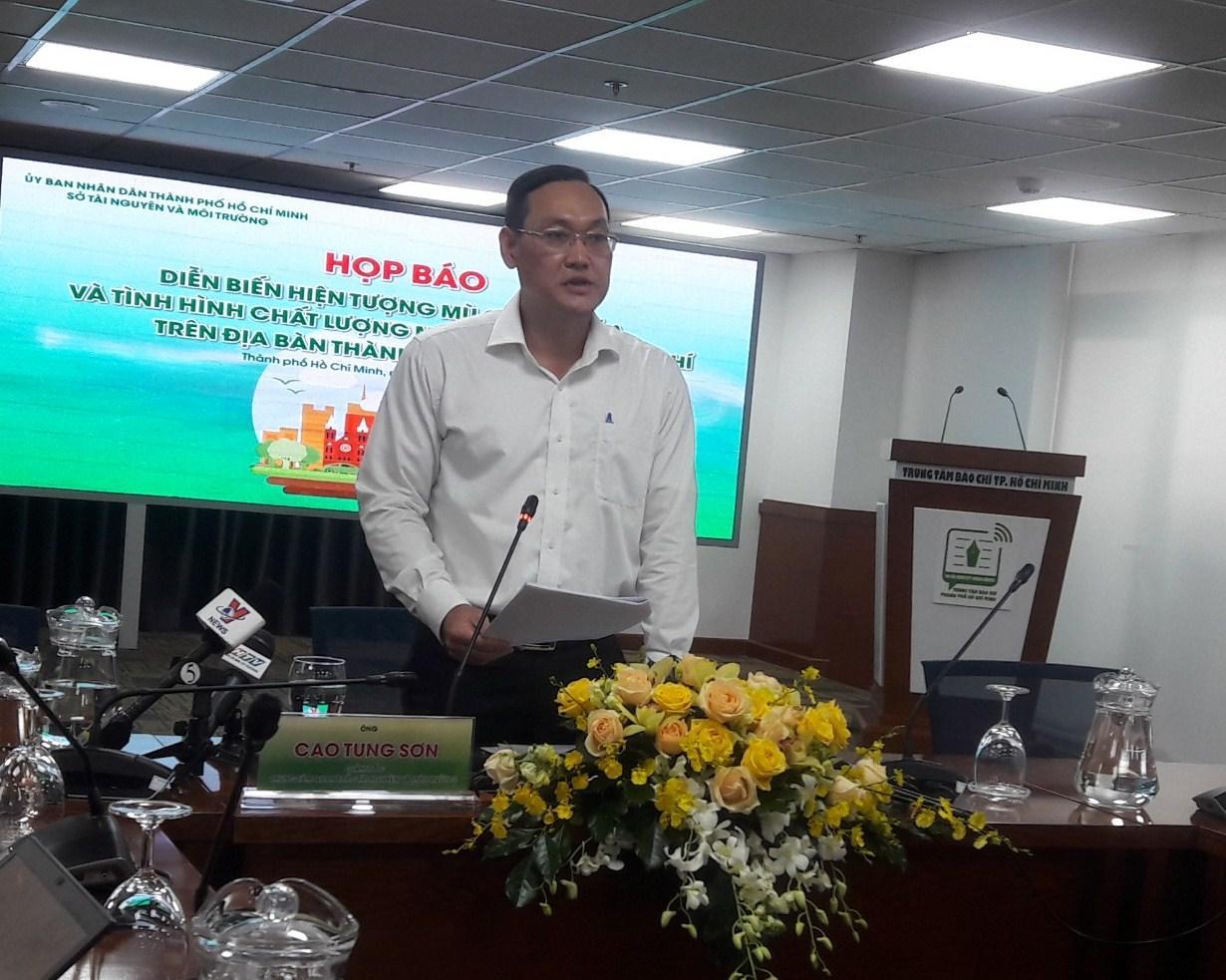 Hiện tượng mù quang hóa gây ô nhiễm không khí tại TP. Hồ Chí Minh Ảnh 1