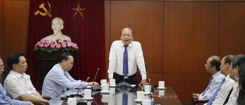 Đồng chí Lê Hải Bình giữ chức Vụ trưởng Vụ Thông tin Đối ngoại, Ban Tuyên giáo TƯ Ảnh 2