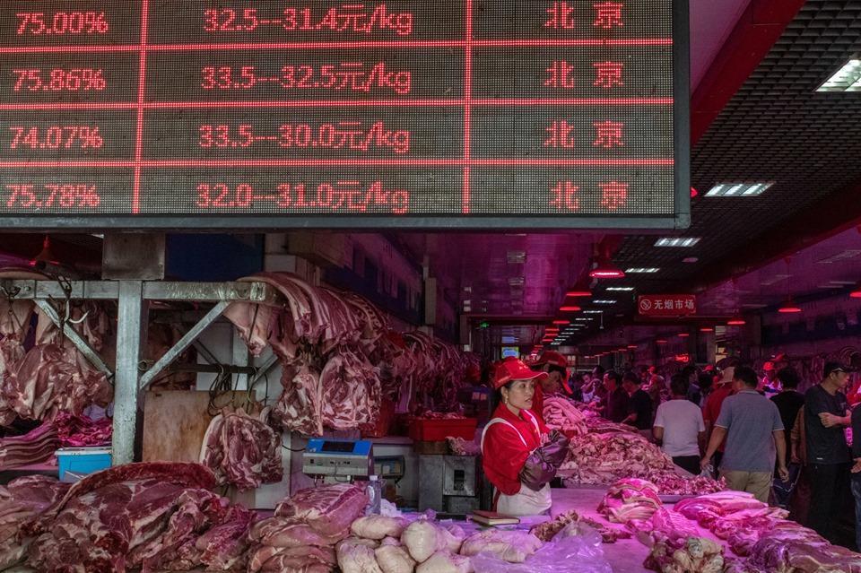 Khám phá kho dự trữ thịt lợn chiến lược của Trung Quốc Ảnh 3