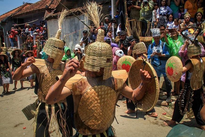 Thích thú với lễ hội 'đại chiến cà chua' ở đất nước Indonesia Ảnh 5