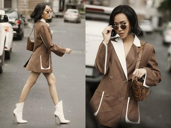 Diệu Nhi cùng dàn mỹ nhân Hàn gợi ý cách lên đồ mặc Blazer đúng chuẩn Thu/Đông Ảnh 13