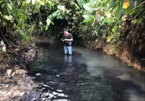 Đường đi của chất thải độc hại vào nguồn nước sạch sông Đà Ảnh 1