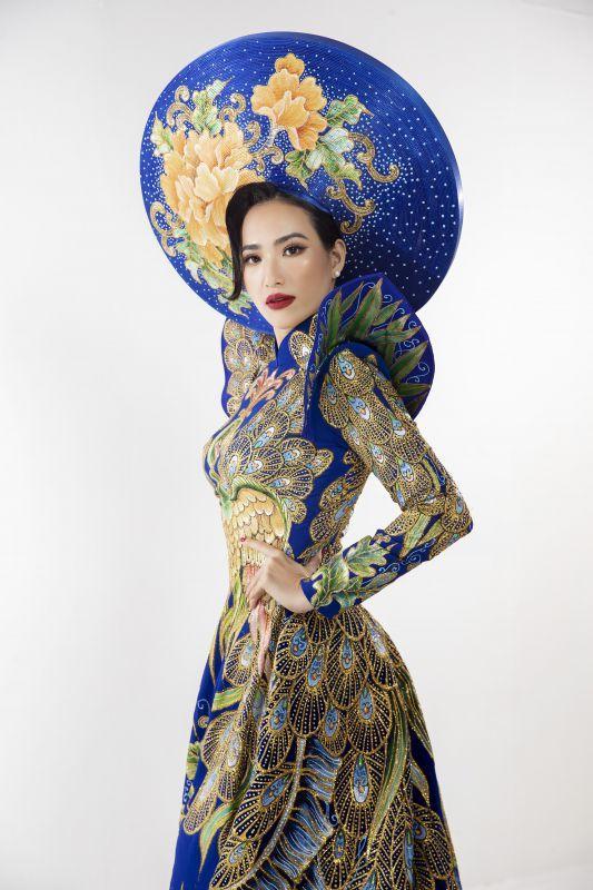 Lê Vũ Hoàng Hạt giành giải Hoa hậu Quý bà thân thiện tại Hoa hậu Phụ nữ Toàn thế giới 2019 Ảnh 2