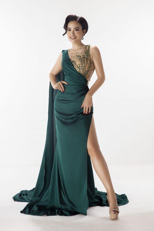 Lê Vũ Hoàng Hạt giành giải Hoa hậu Quý bà thân thiện tại Hoa hậu Phụ nữ Toàn thế giới 2019 Ảnh 1