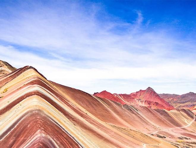 Chiêm ngưỡng ngọn núi 'Cầu vồng' có màu sắc sặc sỡ ở Peru Ảnh 10