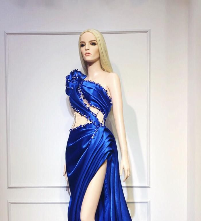 Hoàng Hạnh diện trang phục lấy cảm hứng từ 'Hoa hồng xanh' trong đêm chung kết Miss Earth Ảnh 3