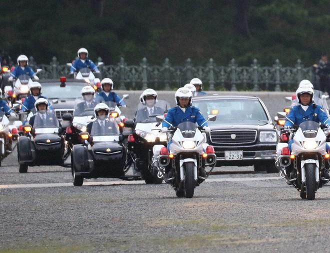 26.000 cảnh sát triển khai cho lễ diễu hành của Nhật hoàng Ảnh 2