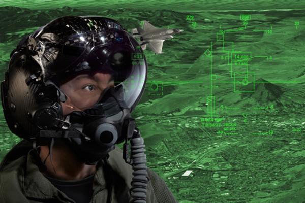 Thấy gì qua chiếc mũ 9 tỷ đồng dành cho phi công chiến đấu cơ F-35? Ảnh 16