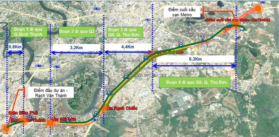 TP.HCM: 14km dọc metro số 1 sẽ được tạo mảng xanh Ảnh 1