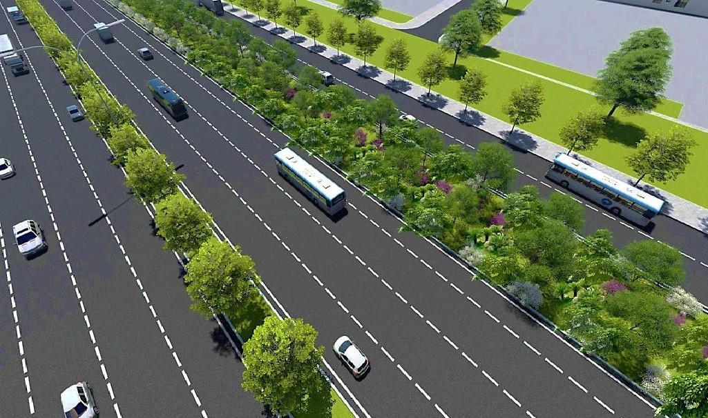 TP.HCM: 14km dọc metro số 1 sẽ được tạo mảng xanh Ảnh 2