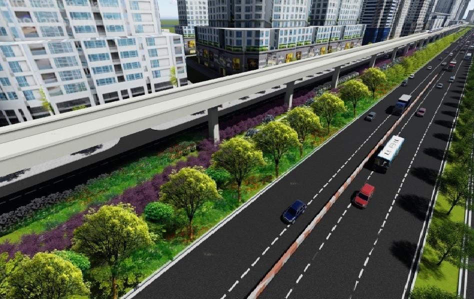 TP.HCM: 14km dọc metro số 1 sẽ được tạo mảng xanh Ảnh 3