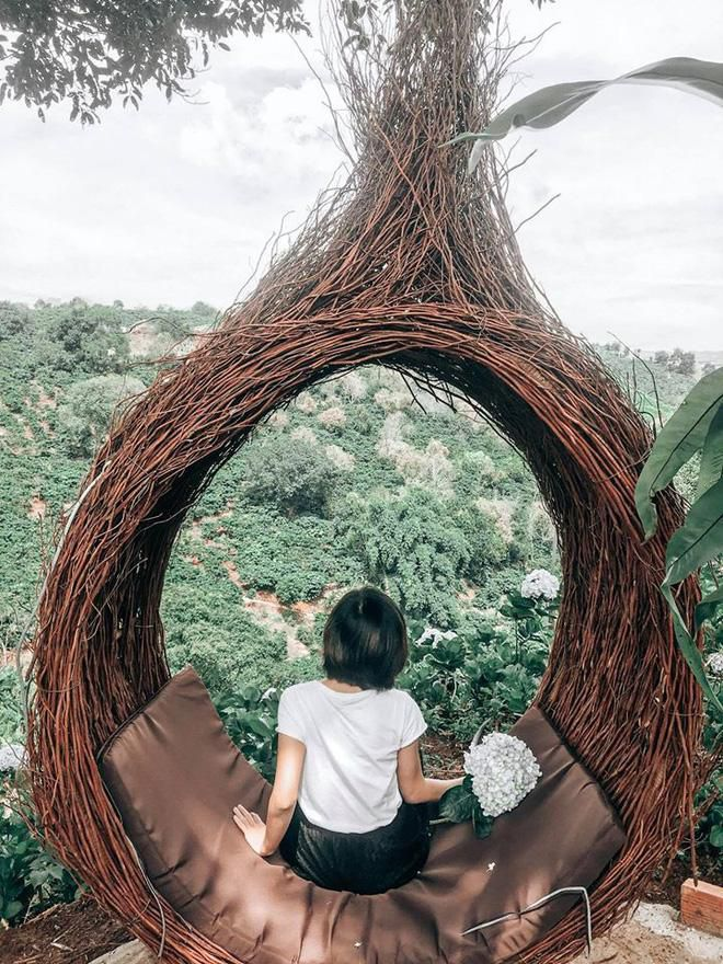 Đà Lạt lại xuất hiện góc sống ảo mới 'sao chép' ý tưởng từ Bali, lên hình liệu 'có cửa' so với bản gốc? Ảnh 26