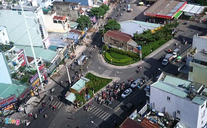 Căn nhà 4 mặt tiền giữa giao lộ ở TP.HCM được đền bù 5,1 tỷ Ảnh 1