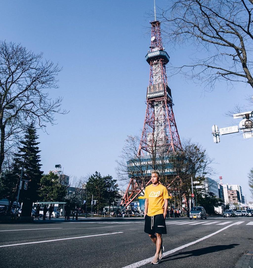 Nhật Bản đẹp mơ màng trong ảnh check-in của Chanathip Ảnh 1