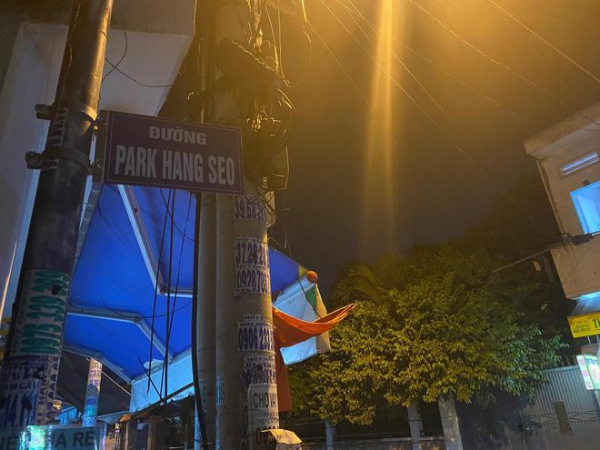 Người Sài Gòn ngạc nhiên khi xuất hiện một con đường mang tên… Park Hang-seo Ảnh 1