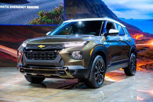 Chi tiết Chevrolet Trailblazer 2021 vừa trình làng Ảnh 2