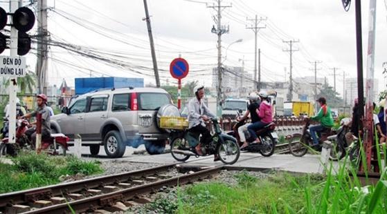 Nam Định: Đảm bảo trật tự ATGT đường sắt những tháng cuối năm Ảnh 1