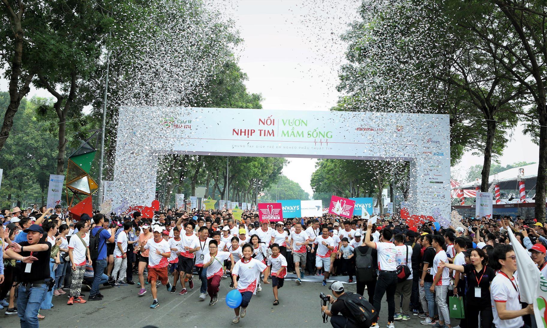 Chạy Vì Trái Tim 2019 quyên góp hơn 6 tỷ đồng giúp trẻ bị tim bẩm sinh Ảnh 1