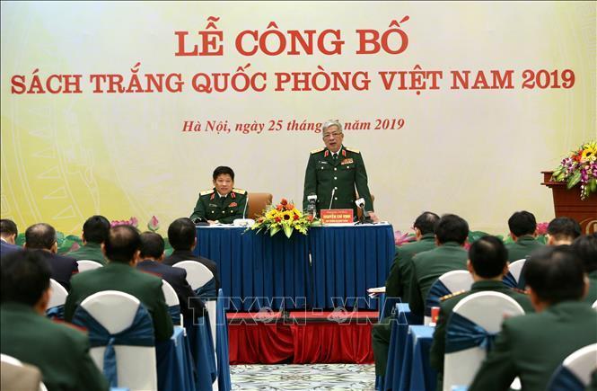 Công bố Sách trắng Quốc phòng Việt Nam năm 2019 Ảnh 2