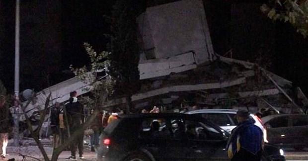 Albania rung chuyển sau trận động đất mạnh nhất trong nhiều thập kỷ Ảnh 1