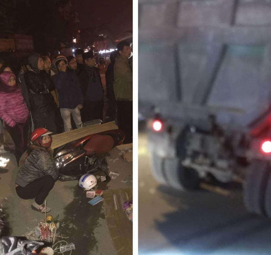 Xe tải 'Hổ vồ' va chạm với xe máy, nữ giáo viên tử vong tại chỗ Ảnh 1